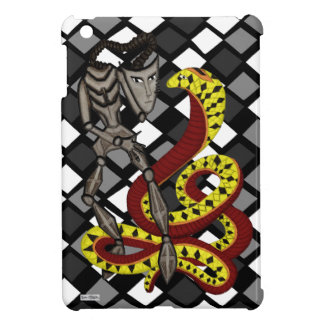 Snake Charmer  (The Serpent & The Robot) iPad Mini Covers