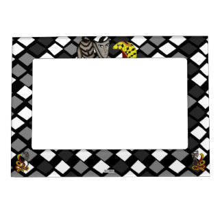 Snake Charmer  (The Serpent & The Robot) Magnetic Photo Frame