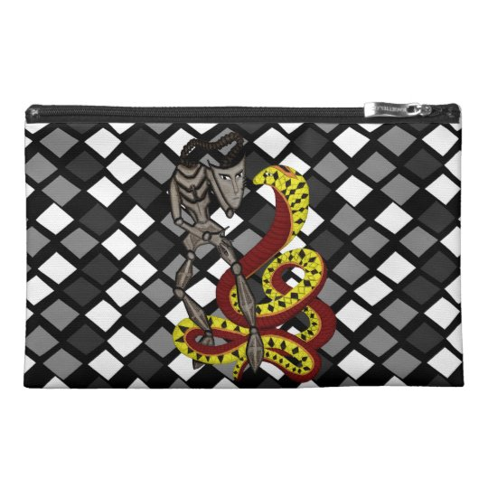 Snake Charmer  (The Serpent & The Robot) Travel Accessory Bag