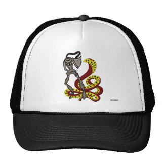 Snake Charmer  (The Serpent & The Robot) Trucker Hat