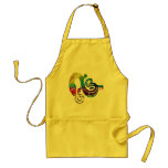 Snake Charming Witch Adult Apron