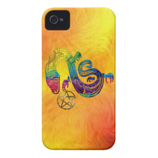 Snake Charming Witch iPhone 4 Case-Mate Case