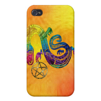 Snake Charming Witch iPhone 4 Cases