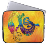 Snake Charming Witch Laptop Computer Sleeves