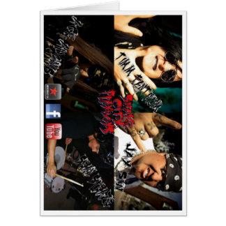 Snake City Playboys Card