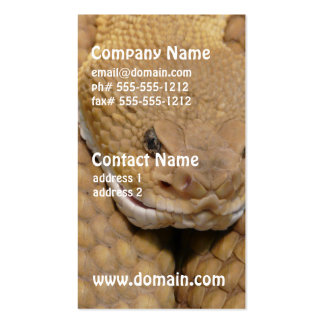 Snake Double-Sided Standard Business Cards (Pack Of 100)