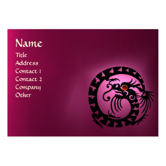 SNAKE DRAGON AMETHYST ,Beauty,Salon ,Day Spa Large Business Card