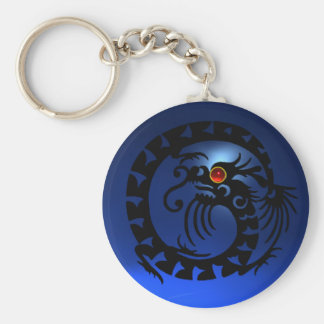 SNAKE DRAGON,black,red  ruby,blue sapphire Keychain