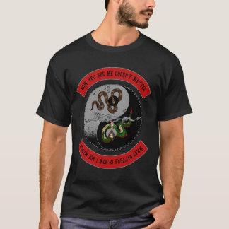 "Snake/Dragon w/Logo ""How You See Me"" Dark T-Shirt"