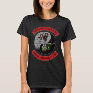 "Snake/Dragon w/Logo ""How You See Me"" Women T-Shirt"