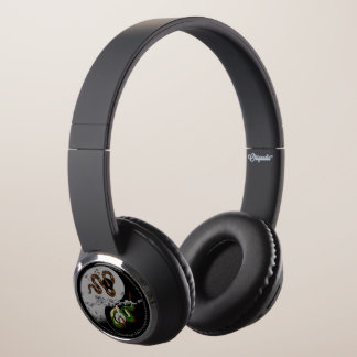 "Snake/Dragon Ying/Yang ""How You See Me"" Headphones"