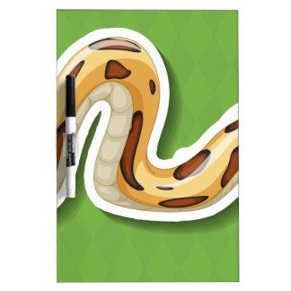 Snake Dry Erase Whiteboards