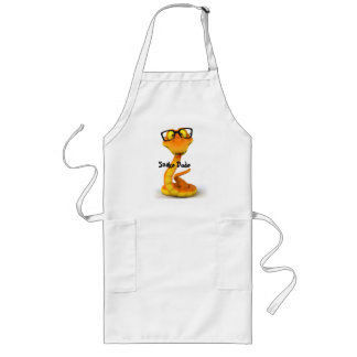 Snake Dude | Cute Chinese Zodiac Sign Long Apron