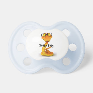 Snake Dude Cute Chinese Zodiac Sign Pacifiers