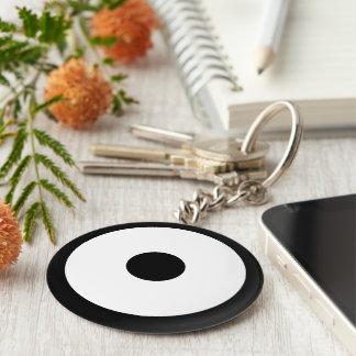 Snake eye keychain