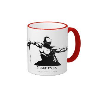 Snake Eyes 1 Ringer Mug