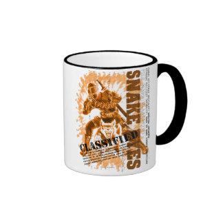 Snake Eyes Classified Ringer Mug