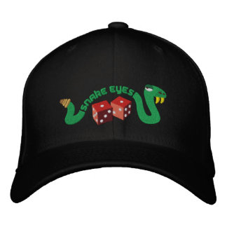 Snake Eyes Embroidered Baseball Cap