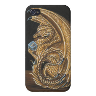 Snake Eyes Gaming Dragon iPhone 4/4S Covers