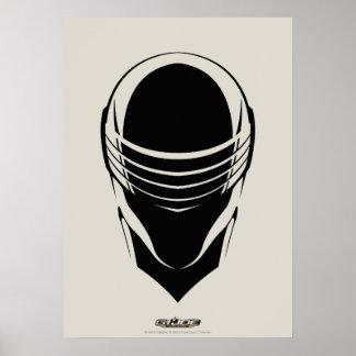 Snake Eyes Head Poster
