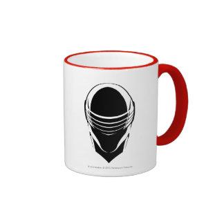 Snake Eyes Head Ringer Mug