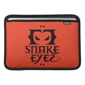 Snake Eyes MacBook Sleeve