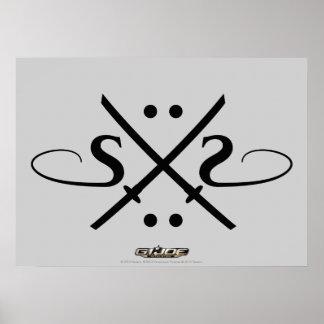 Snake Eyes Logo Posters