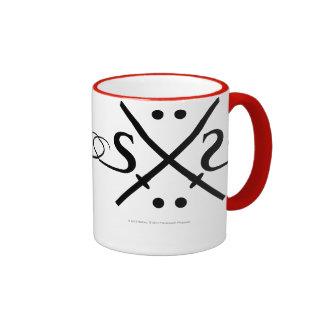 Snake Eyes Logo Ringer Mug