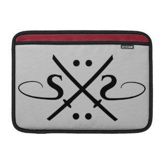 Snake Eyes Logo Sleeve For MacBook Air