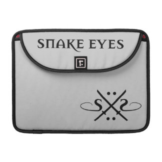 Snake Eyes Logo Sleeve For MacBook Pro