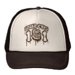 Snake Eyes Retro Grunge Graphic Trucker Hat