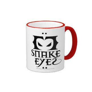 Snake Eyes Ringer Mug