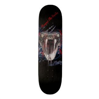 Snake Fangs Skate Board Deck