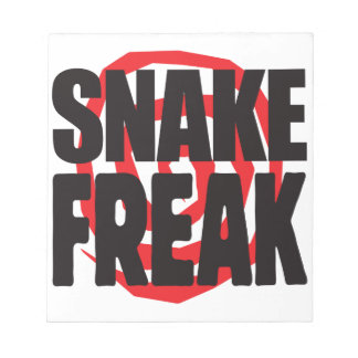 Snake Freak Memo Notepads