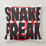 Snake Freak Pillow