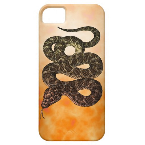 snake funda para iPhone 5 barely there