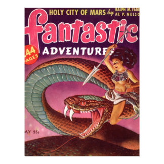 Snake Girl Letterhead