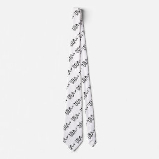 Snake Gray and Light Gray Silhouette Tie