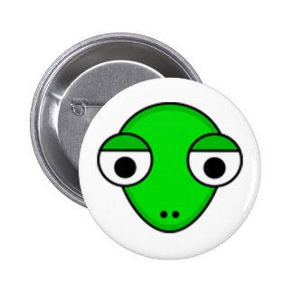 Snake Head Standard Round Button