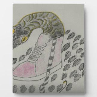 Snake In My Shoe Design Plaque