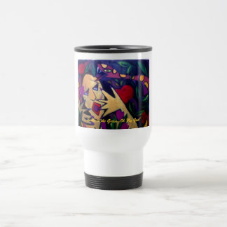 Snake in the Grass, Oh My God! 15 Oz Stainless Steel Travel Mug