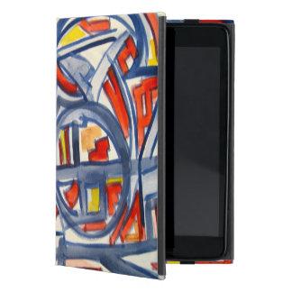 Snake In The Henhouse - Abstract Art Handpainted iPad Mini Cover