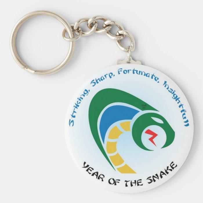 Snake Keys Keychain