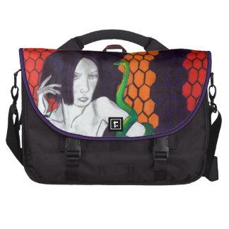 Snake Lady Laptop Computer Bag