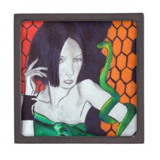 Snake Lady Premium Trinket Box