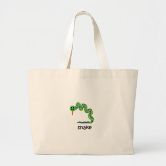Snake Large Tote Bag