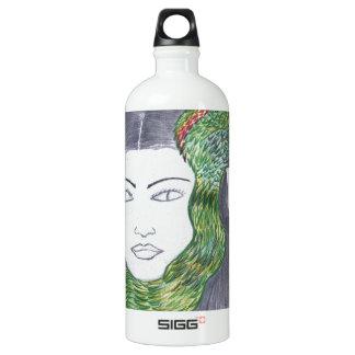 Snake Love Aluminum Water Bottle