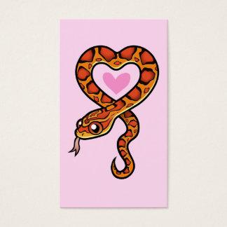 Snake Love Business Card