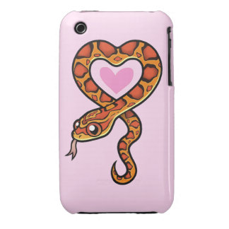 Snake Love iPhone 3 Cover