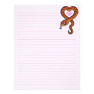 Snake Love Letterhead